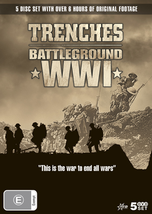 Trenches - Battleground WWI (5 Disc Box Set) on DVD image