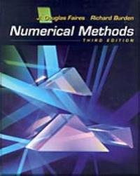 Numerical Methods by J.Douglas Faires image