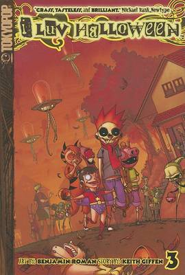 I Luv Halloween Volume 3 Manga by Keith Giffen