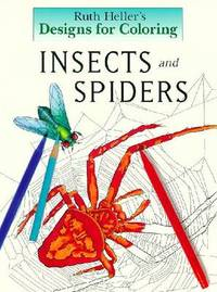 Insects: Designs for Colouring by Ruth Heller image