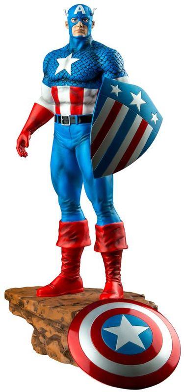 Captain America - Captain America with Interchangeable Shield Limited Edition 1:6 Scale Statue