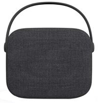 N:CHE N1 Fabric Bluetooth Speaker - Grey Black