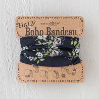 Natural Life: Half Bandeau - Black Sage Blooms