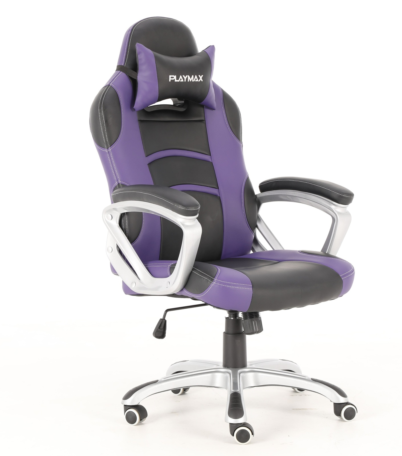 Playmax Gaming Chair Purple and Black for  image
