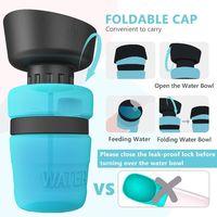 BPA Free Pet Water Bottle - Blue