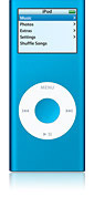 Apple iPod nano 4GB - Blue