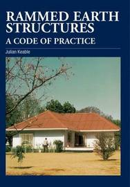 Rammed Earth Structures: A Code of Practice by Julian Keable image