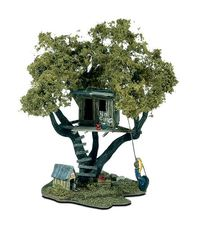 Woodland Scenics Tommys Treehouse HO Scale