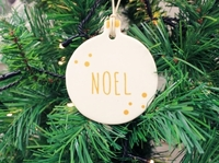 Hilda Hanging Noel Decoration (9cm)