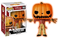 Nightmare Before Christmas: Jack the Pumpkin King (Glow) Pop! Vinyl Figure