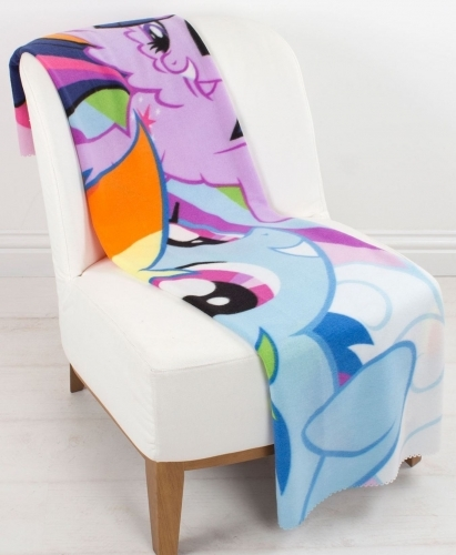 My Little Pony Fleece Blanket image