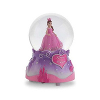 Pink Poppy: Forever a Princess Musical Snow Globe - Lilac