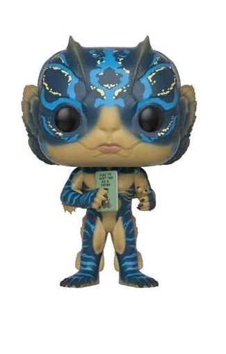 The Shape of Water: Amphibian Man with Card - Pop! Vinyl Figure image