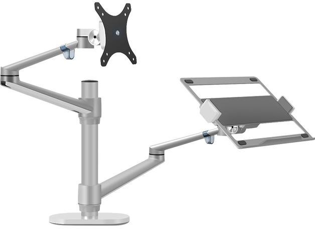Gorilla Arms: Monitor Mount & Laptop Holder