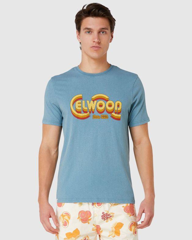 Elwood: Mens Cooper Tee (True Blue) - Large