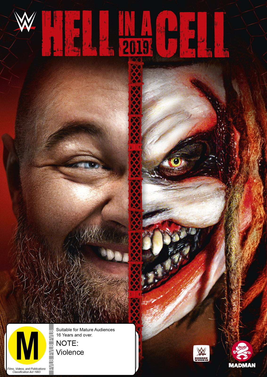 WWE: Hell In A Cell 2019 on DVD image