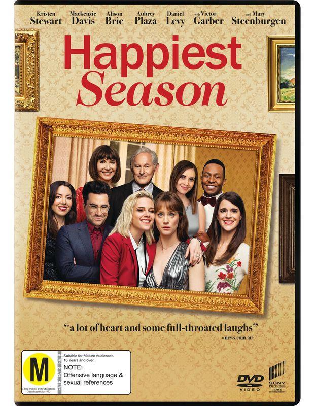 Happiest Season on DVD