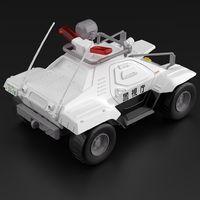 Mobile Police Patlabor: 1/43 Special Control Vehicle Set - Model Ki