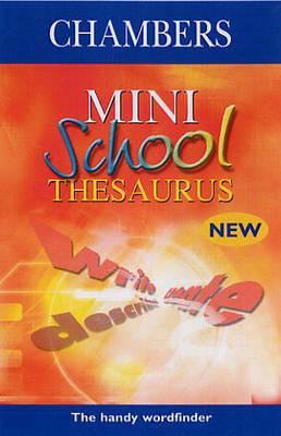 Chambers Mini School Thesaurus image