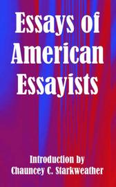 Essays of American Essayists image