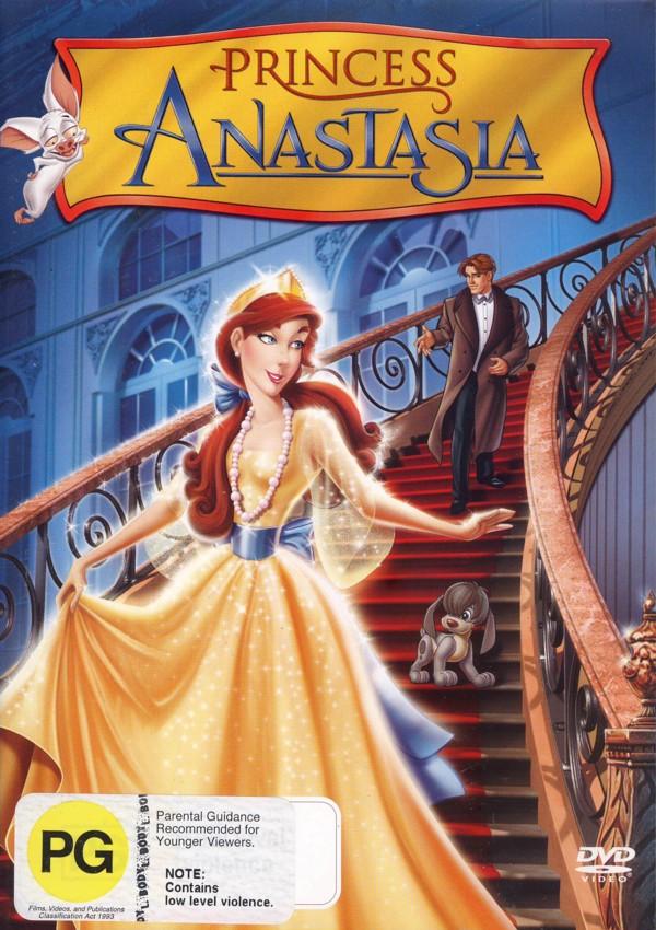 Princess Anastasia on DVD image