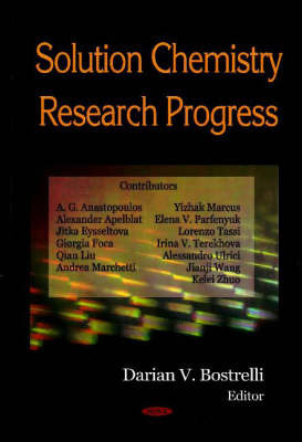 Solution Chemistry Research Progress