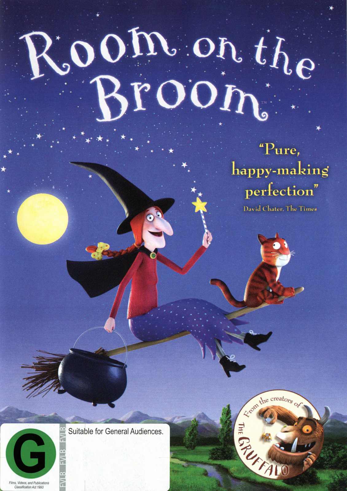 Room On The Broom Dvd Buy Now At Mighty Ape Nz