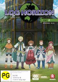 Log Horizon - Part Two on DVD