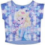 Disney Frozen Elsa Purple T-Shirt (Size 6)