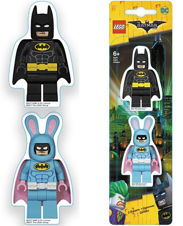 The LEGO Batman Movie: Eraser Set - Batman/Bunny