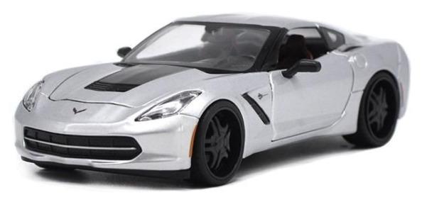 Maisto Design: 1:25 Diecast Vehicle - 2014 Corvette Stingray