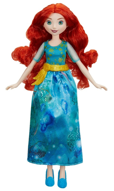 Disney Princess: Royal Shimmer Doll - Merida (Floral)
