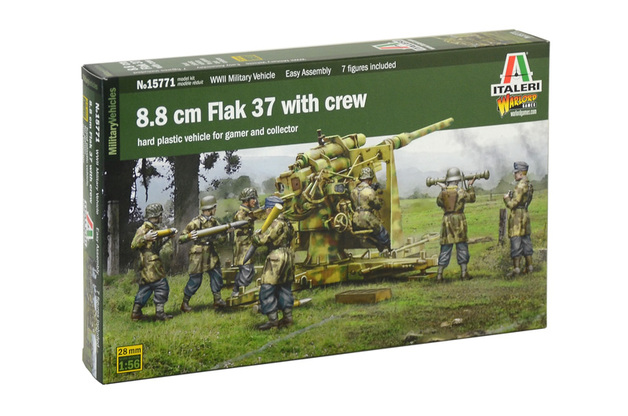 Italeri 1/56 8.8CM FLAK (Warlord Games) - Scale Model Kit