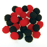 Black n Reds Lollies 1kg - Rainbow Confectionery