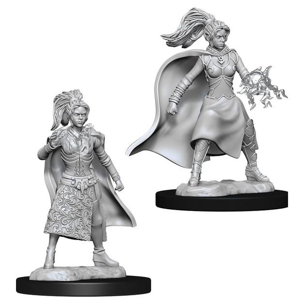 D&D Nolzur's Marvelous: Unpainted Miniatures - Female Human Sorcerer