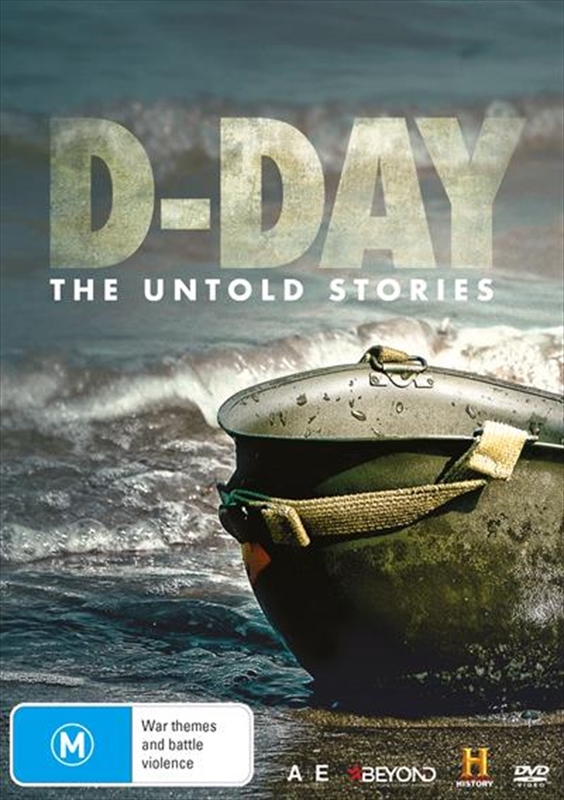 D-Day: The Untold Stories on DVD