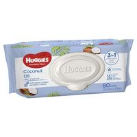 Huggies Baby Wipes Value Box - Coconut (4 Pks - 320 Wipes)