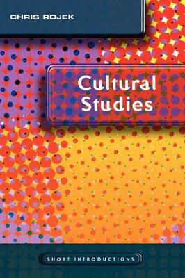 Cultural Studies by Chris Rojek image