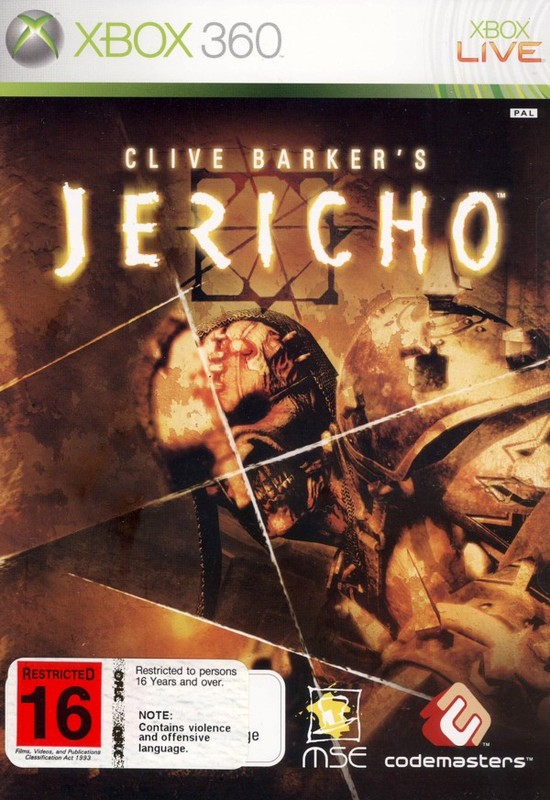 Clive Barker's Jericho for Xbox 360