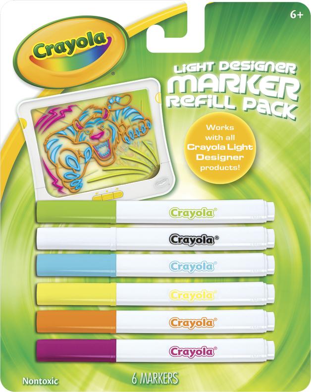 Crayola Light Designer Refill Pens Toy At Mighty Ape Australia
