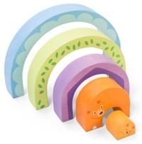 Le Toy Van: Petilou - Tunnel Puzzle Momma Bear