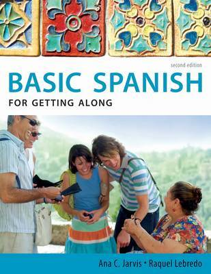 Spanish for Getting Along by Ana C Jarvis image