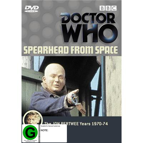 Doctor Who: Spearhead From Space on DVD image