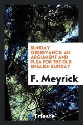 Sunday Observance by F.Meyrick