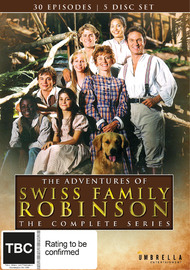 The Adventures Of Swiss Family Robinson on DVD