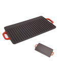 Cast Iron Reversible Grill Pan (50×23cm)