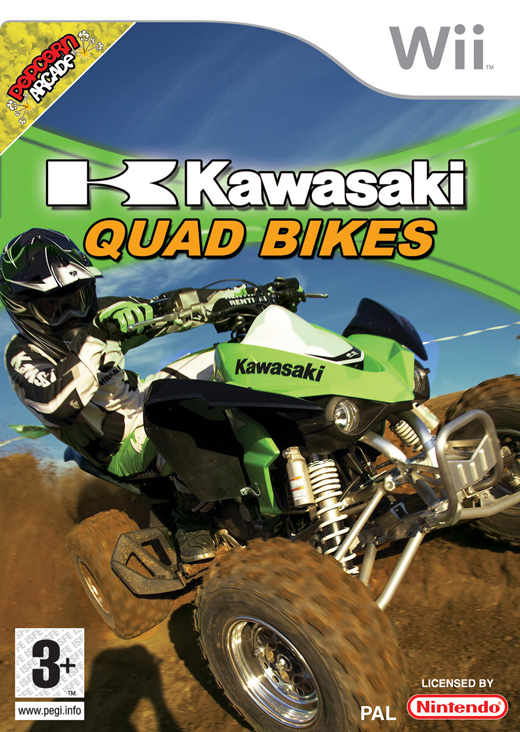 Kawasaki Quad Bikes for Wii image