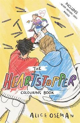 The Heartstopper Colouring Book by Alice Oseman