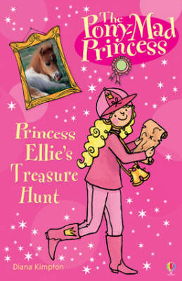 Princess Ellie's Secret Treasure Hunt by Diana Kimpton image