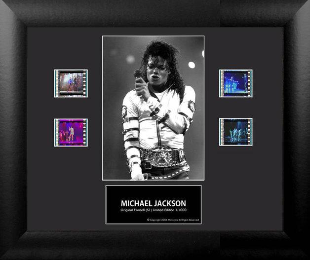 FilmCells: Portrait-Cell Frame - Michael Jackson (S1)